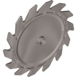 Flat Silver Technic Circular Saw Blade 9 x 9 with Pin Hole and Teeth in Same Direction