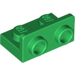 Green Bracket 1 x 2 - 1 x 2 Inverted - new