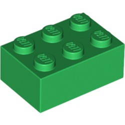 Green Brick 2 x 3 - new