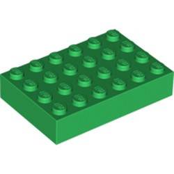 Green Brick 4 x 6 - used