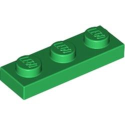 Green Plate 1 x 3