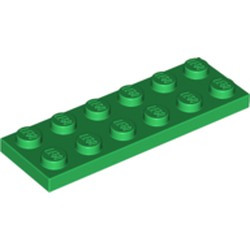 Green Plate 2 x 6 - new