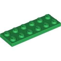 Green Plate 2 x 6
