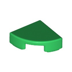 Green Tile, Round 1 x 1 Quarter - new