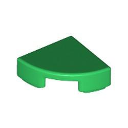 Green Tile, Round 1 x 1 Quarter - used