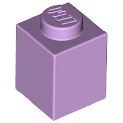 Lavender Brick 1 x 1 - used