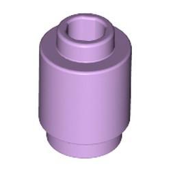 Lavender Brick, Round 1 x 1 Open Stud