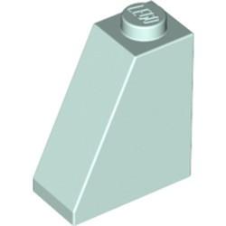 Light Aqua Slope 65 2 x 1 x 2 - used