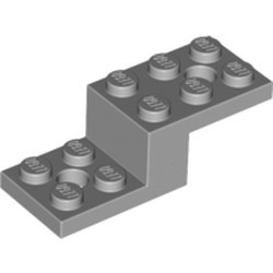 Light Bluish Gray Bracket 5 x 2 x 1 1/3 with 2 Holes