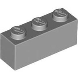 Light Bluish Gray Brick 1 x 3 - new