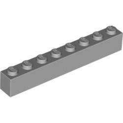 Light Bluish Gray Brick 1 x 8