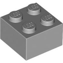Light Bluish Gray Brick 2 x 2