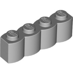 Light Bluish Gray Brick, Modified 1 x 4 Log - new