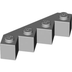 Light Bluish Gray Brick, Modified Facet 4 x 4