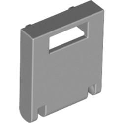 Light Bluish Gray Container, Box 2 x 2 x 2 Door with Slot