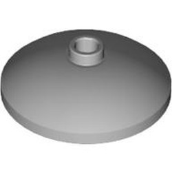 Light Bluish Gray Dish 3 x 3 Inverted (Radar) - used
