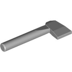 Light Bluish Gray Minifigure, Utensil Axe