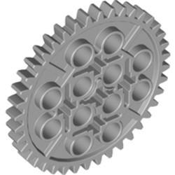 Light Bluish Gray Technic, Gear 40 Tooth