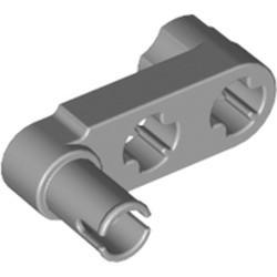 Light Bluish Gray Technic, Liftarm, Modified Crank / Pin 1 x 3 - Axle Holes