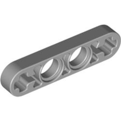 Light Bluish Gray Technic, Liftarm Thin 1 x 4 - Axle Holes