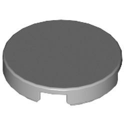 Light Bluish Gray Tile, Round 2 x 2 - used