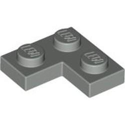 Light Gray Plate 2 x 2 Corner - used