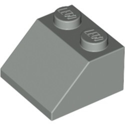 Light Gray Slope 45 2 x 2 - used
