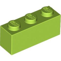 Lime Brick 1 x 3