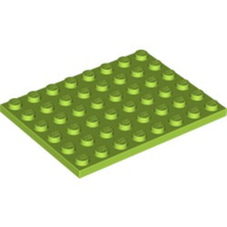 Lime Plate 6 x 8 - used