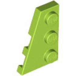 Lime Wedge, Plate 3 x 2 Left