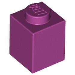 Magenta Brick 1 x 1 - new