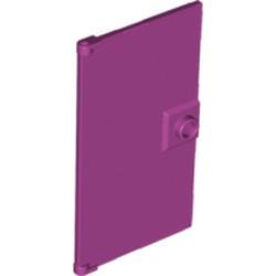 Magenta Door 1 x 4 x 6 with Stud Handle