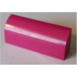 Magenta Slope, Curved 1 x 4 x 1 1/3