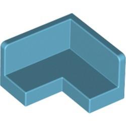 Medium Azure Panel 2 x 2 x 1 Corner - used
