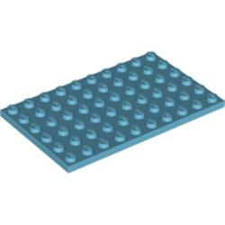 Medium Azure Plate 6 x 10 - new