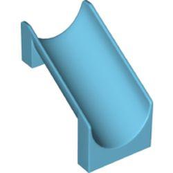 Medium Azure Slide Playground 4 x 6 x 6 Straight