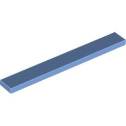 Medium Blue Tile 1 x 8 - new
