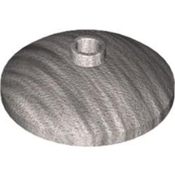 Metallic Silver Dish 3 x 3 Inverted (Radar) - new