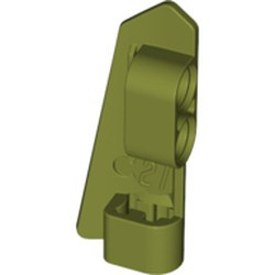Olive Green Technic, Panel Fairing #21 Very Small Smooth, Side B
