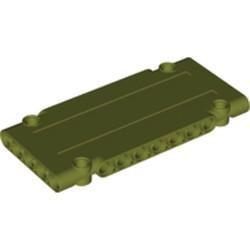 Olive Green Technic, Panel Plate 5 x 11 x 1