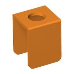 Orange Minifigure, Vest - used