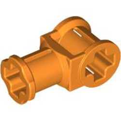 Orange Technic, Axle Connector with Axle Hole - used