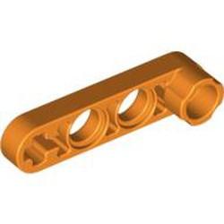 Orange Technic, Liftarm, Modified Stud Connector Thin 1 x 4