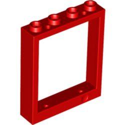 Red Door, Frame 1 x 4 x 4 Lift