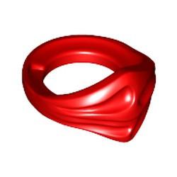 Red Minifigure, Bandana Ninja - used
