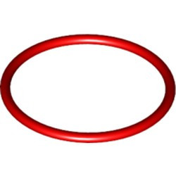 Red Rubber Belt Medium (Round Cross Section) - new - Approx. 3 x 3