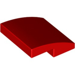 Red Slope, Curved 2 x 2