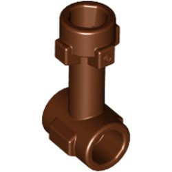 Reddish Brown Bar 1L with Top Stud and 2 Side Studs (Connector Perpendicular) - new