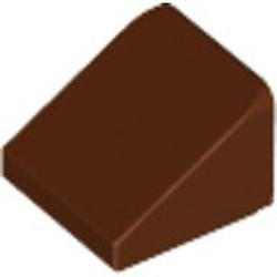 Reddish Brown Slope 30 1 x 1 x 2/3 - new