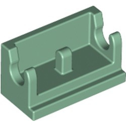 Sand Green Hinge Brick 1 x 2 Base - new